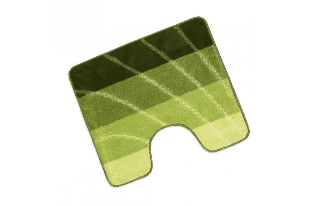 WC předložka 50x60cm zelená vlna