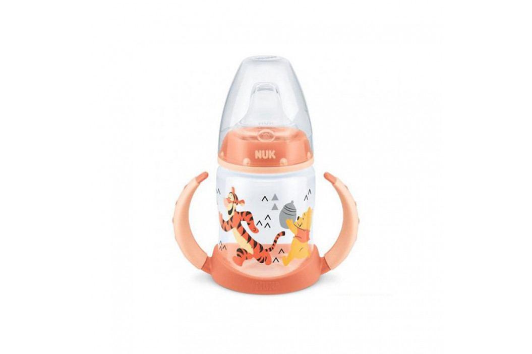 Kojenecká láhev na učení NUK 150 ml Disney Medvídek Pu-Tiger oranžová