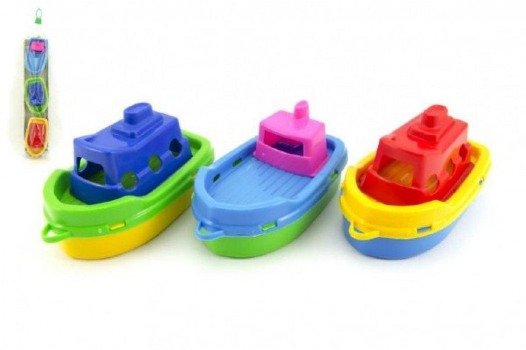 Teddies Loď/Lodičky do vody 3ks plast 14cm v sáčku