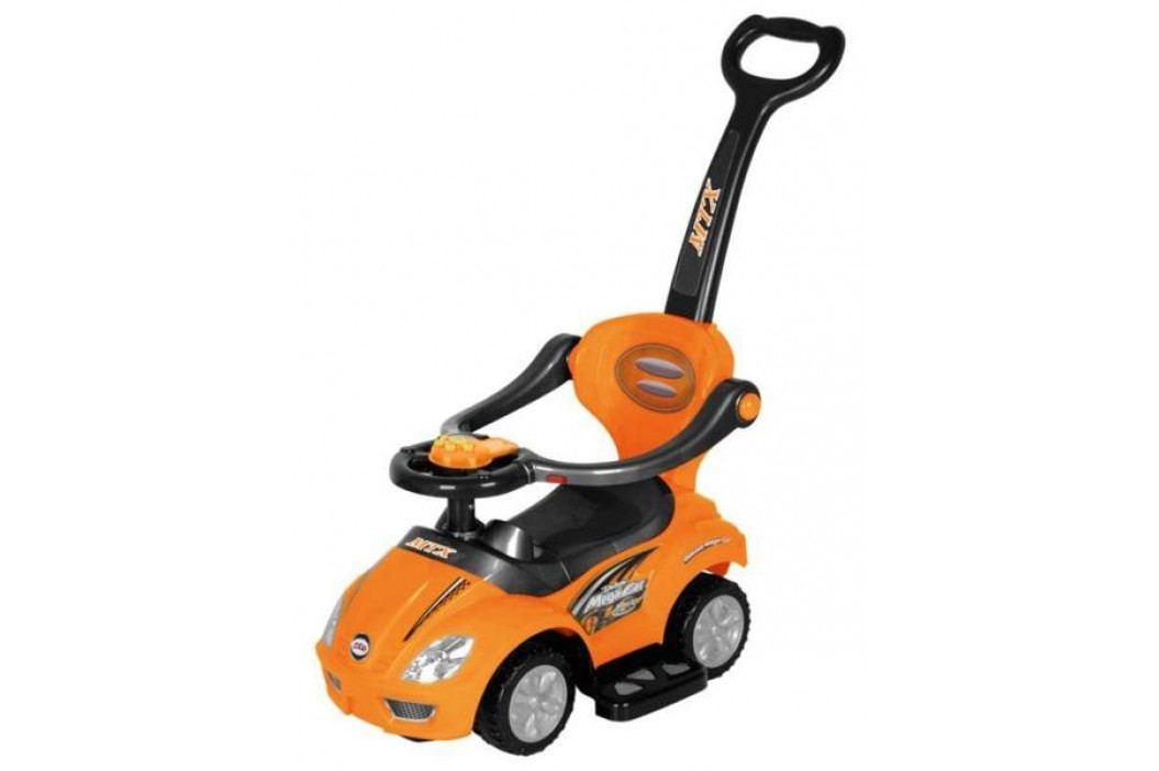 Dětské hrající jezdítko 3v1 Baby Mix orange