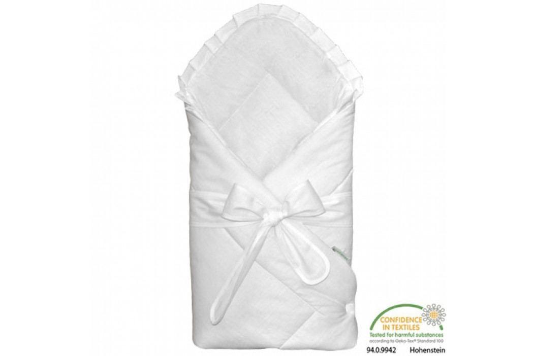 Babyrenka Zavinovačka 80x80 cm Basic s mašlí bílá R8MB010200