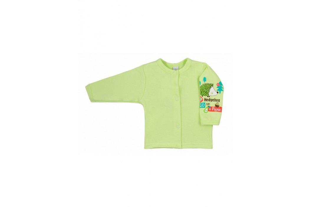 Kojenecký kabátek Bobas Fashion Ježek zelený 86 (12-18 m)