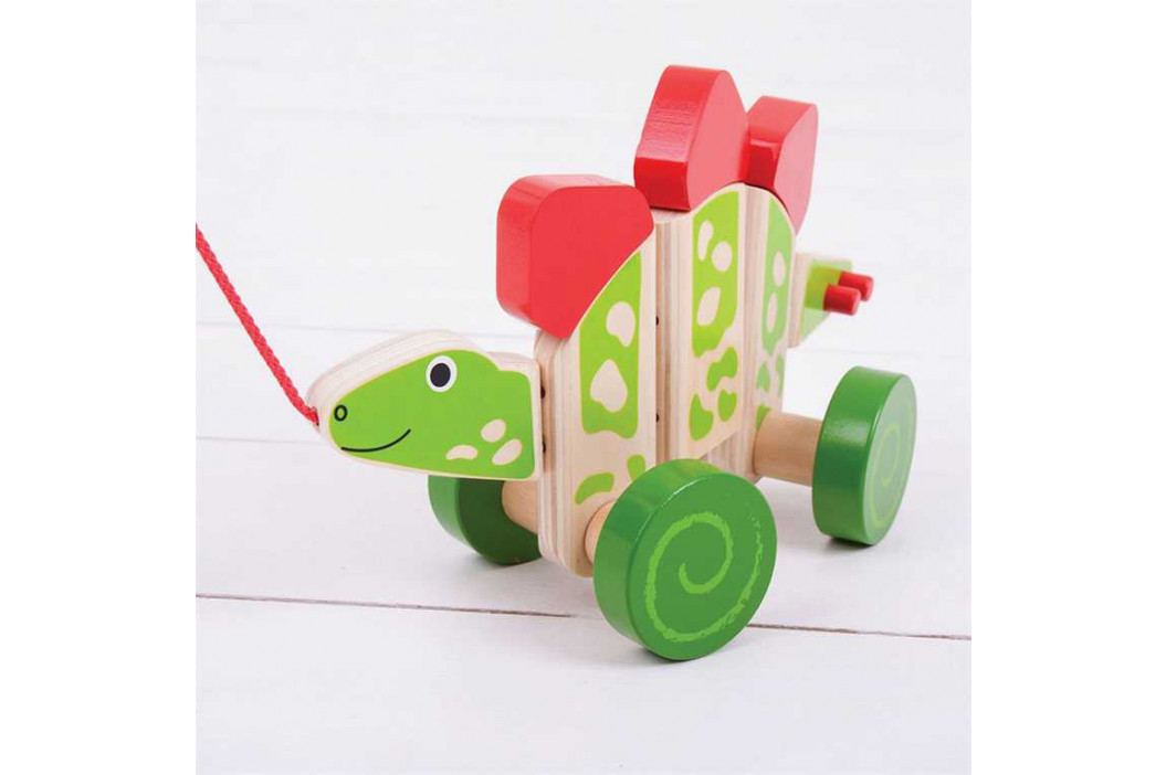 Bigjigs Toys Bigjigs Toys tahací hračka - Dinosaurus