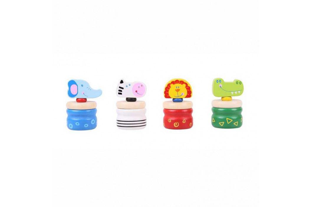 Bigjigs Toys Bigjigs krabičky na zoubky safari