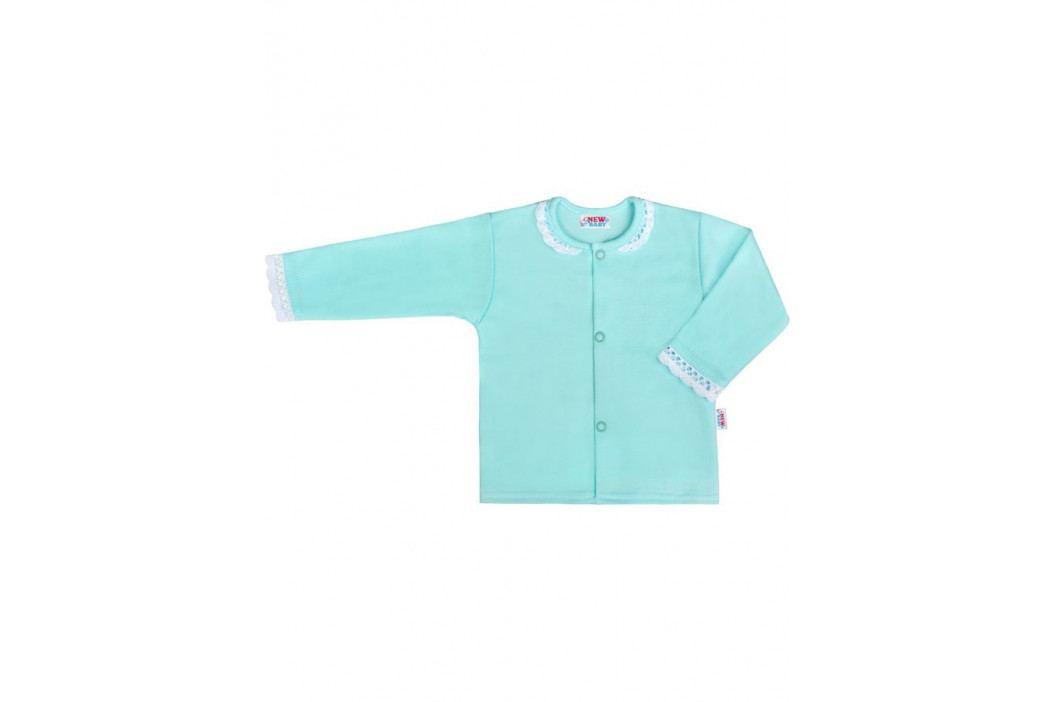 Kojenecký bavlněný kabátek New Baby Angel modrý 68 (4-6m)