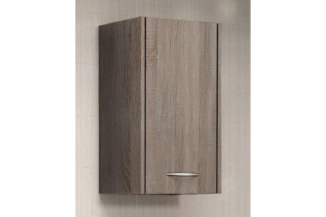Levná závěsná koupelnová skříňka model Zara Bílá