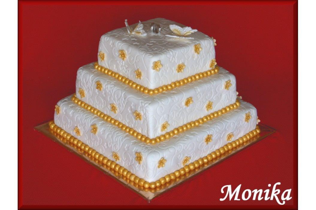 Felcman dortová forma čtverec 35x35cm obrázek inspirace