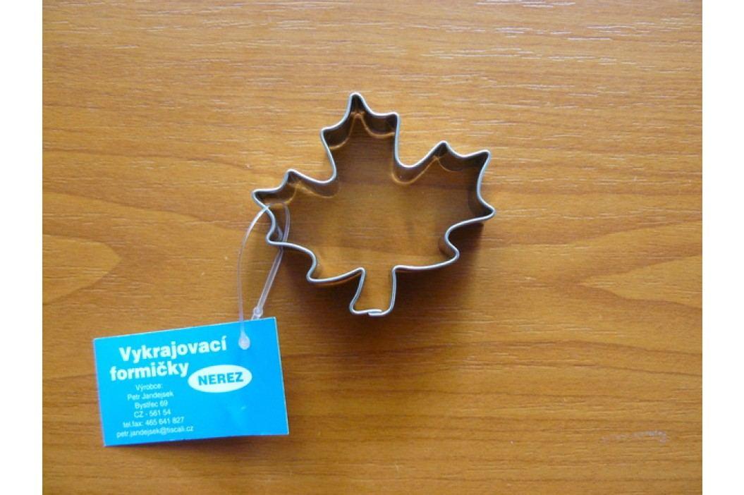 Nerezové vykrajovátko javorový list