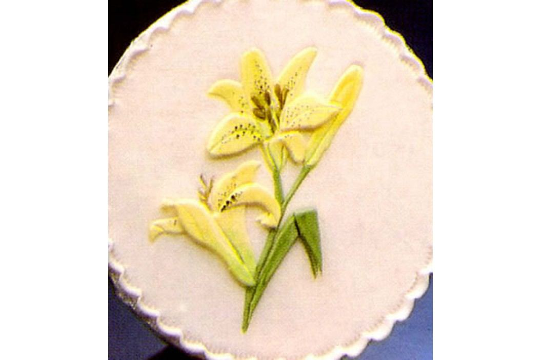 Patchwork na marcipán lilie