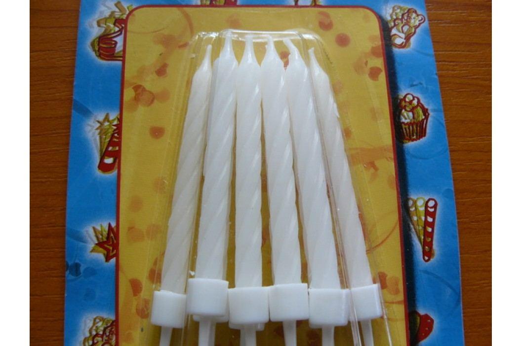 Dortové svíčky bílé
