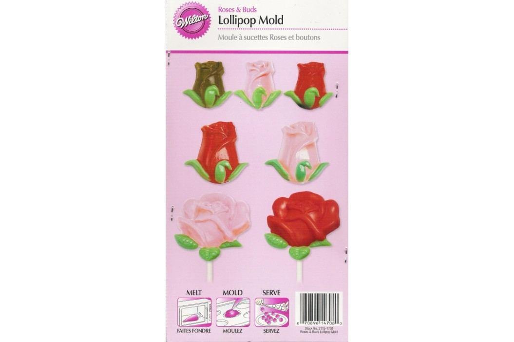 Forma na čokoládu - kvítky růží
