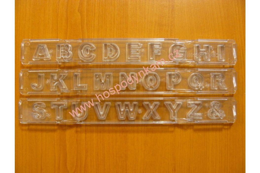 Vypichovač abeceda velká písmena rovná