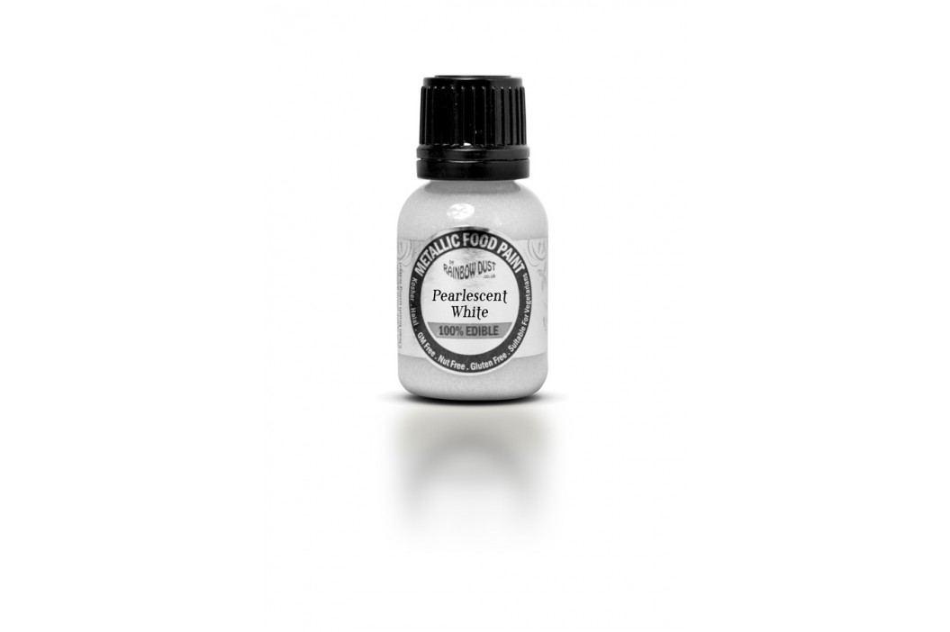 Tekutá barva Pearlescent White
