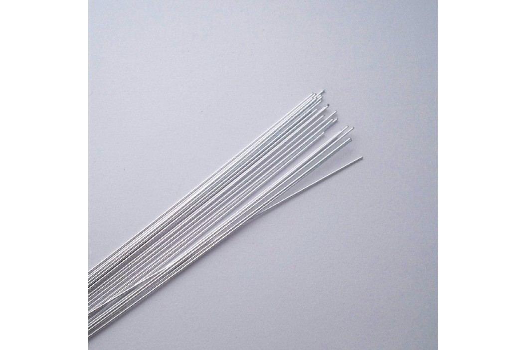 Aranžovací drátky stříbrné 24 gauge