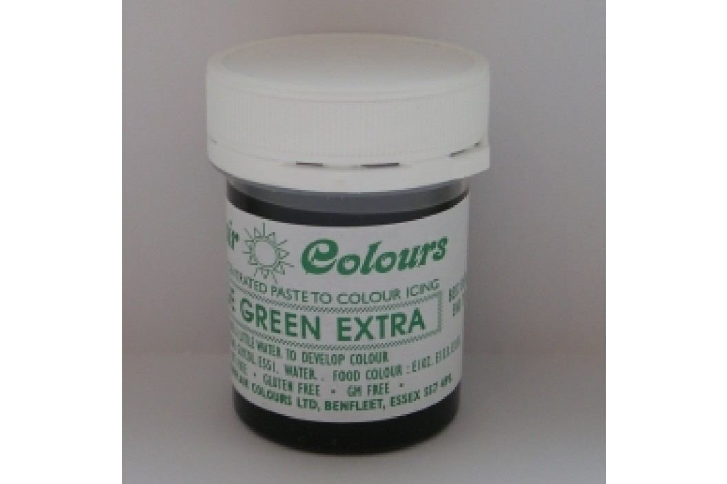 Gelová barva Sugarflair - Foliage green extra