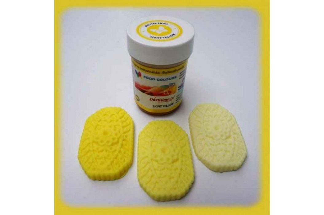 Gelová potravinářská barva Food Colours světle žlutá