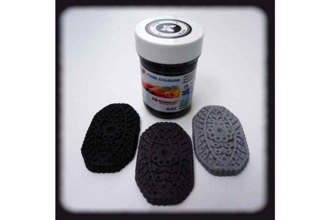 Gelová potravinářská barva Food Colours černá obrázek inspirace