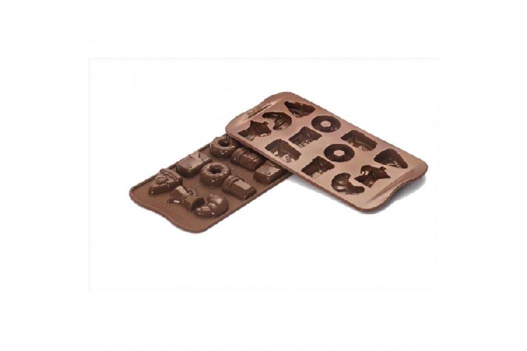 Silikomart Silikonová forma na čokoládu Good Morning