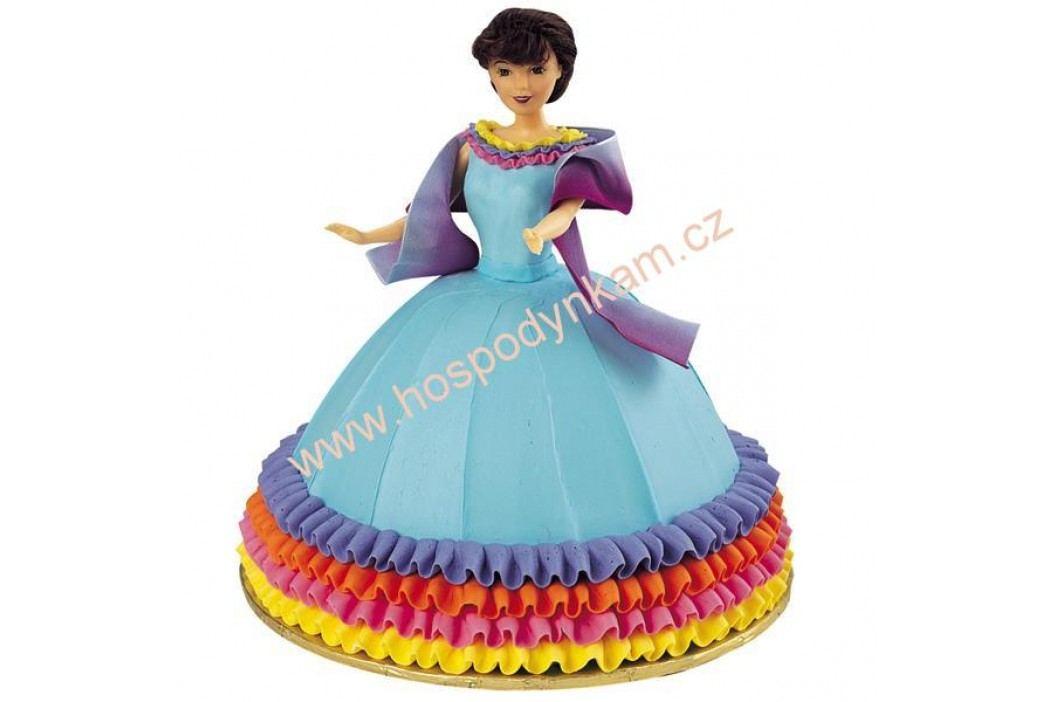 Figurka na dort - zapichovací panenka bruneta
