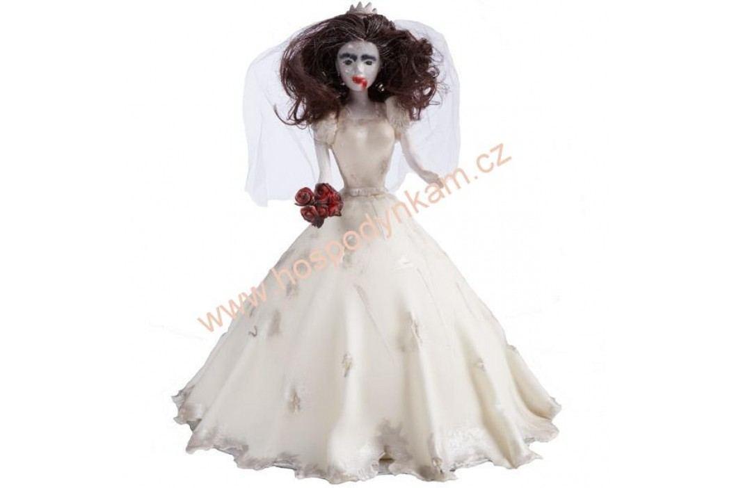 Figurka na dort - zapichovací panenka blondýna