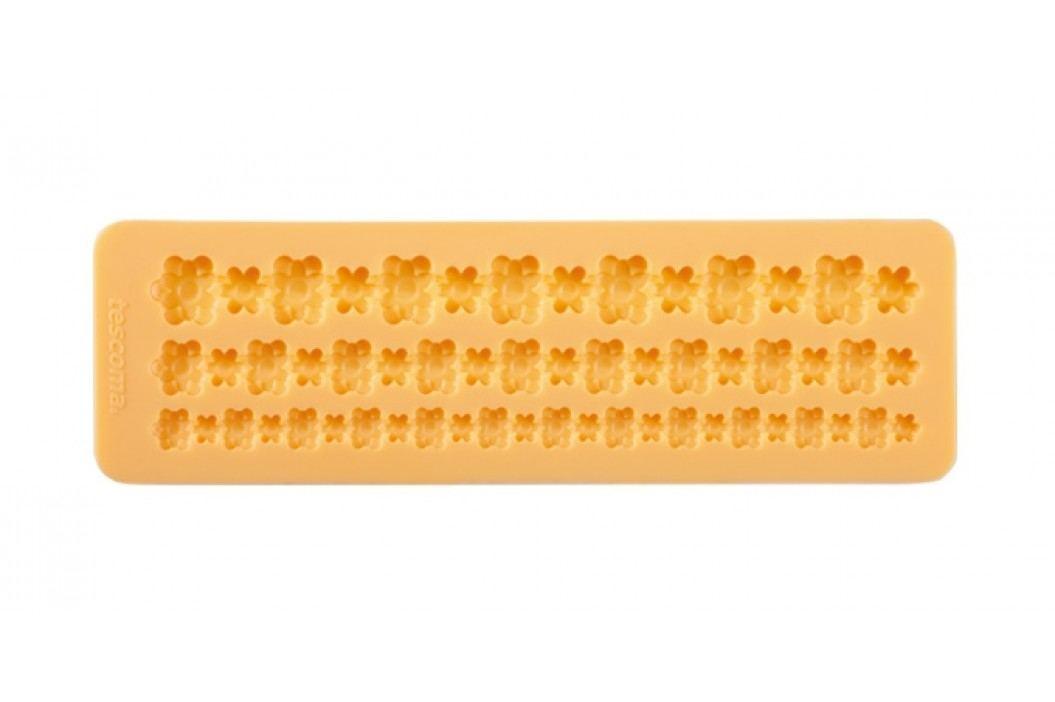 Tescoma Silikonové formičky DELÍCIA DECO, bordura s květinkami