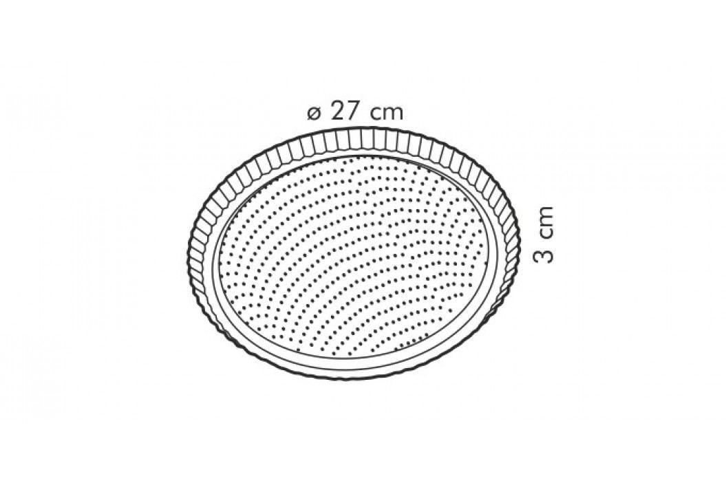 Tescoma Forma s vlnitým okrajem DELÍCIA ? 28 cm