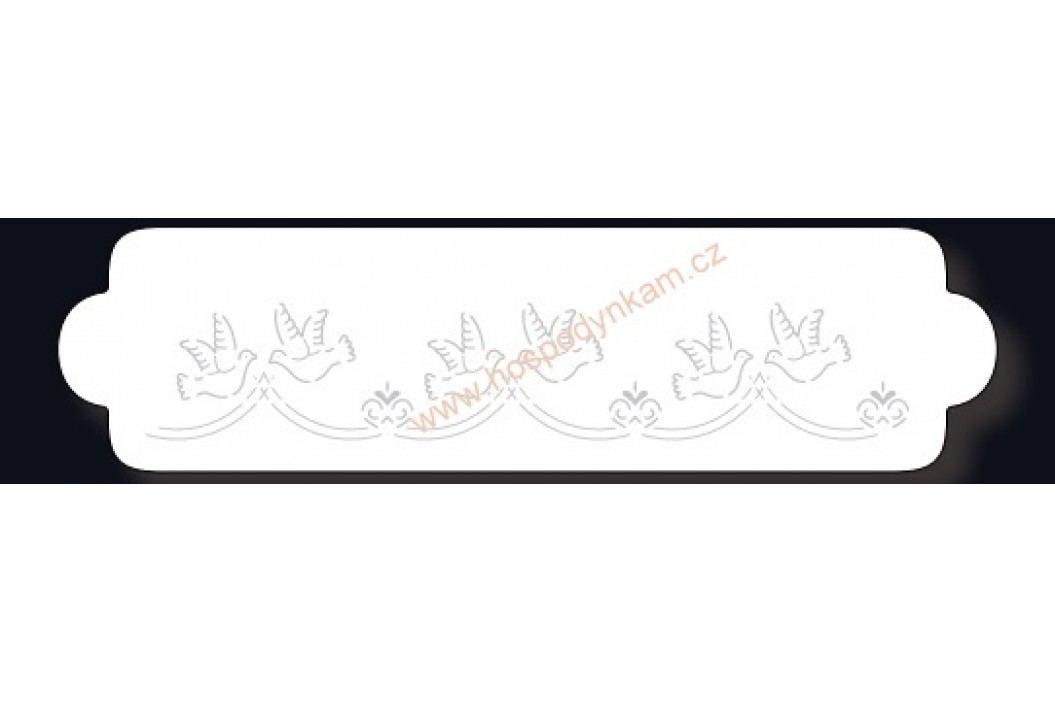 Stencil holubičky