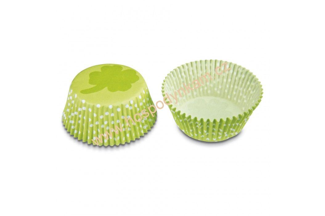 Cukrářské košíčky na pečení čtyřlístek