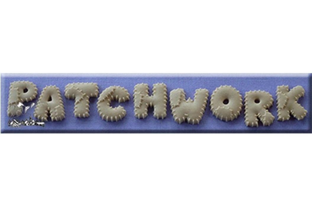 Silikonová forma na marcipán Patchworková abeceda