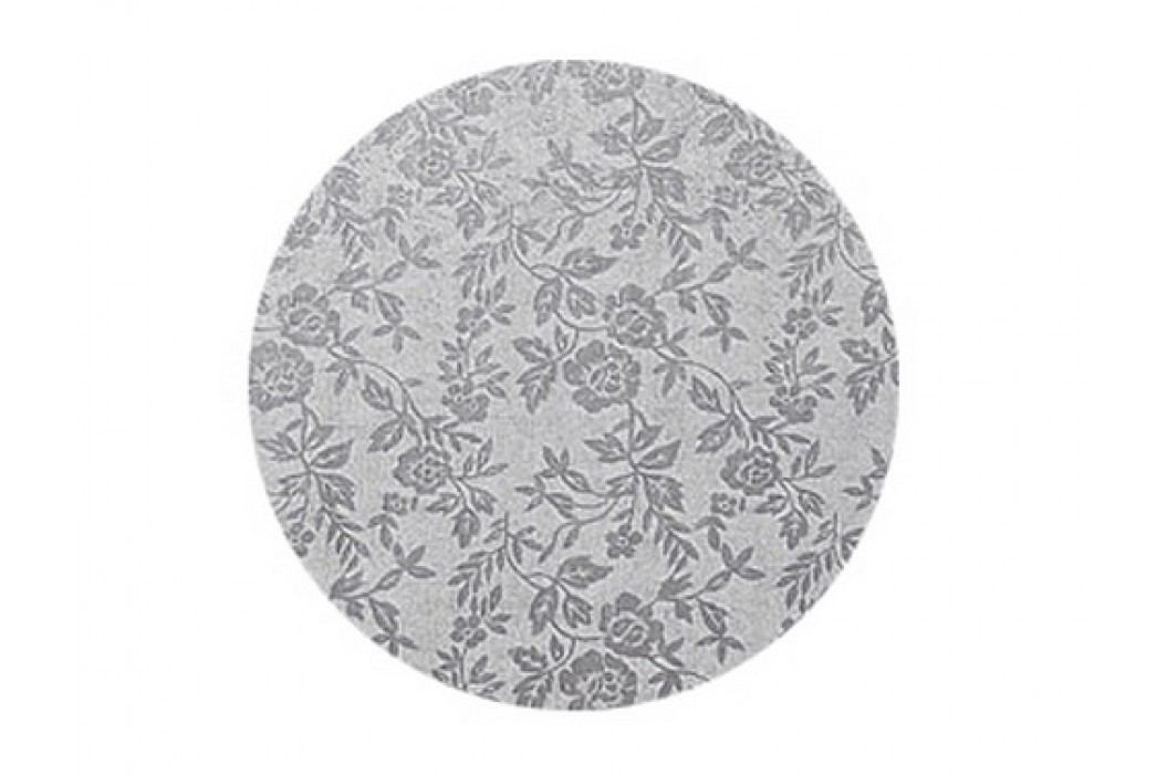 Stříbrný tác Modecor, kruh 35 cm