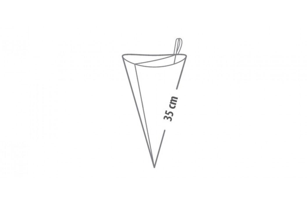 Zdobicí sáček dvojitý DELÍCIA 35 cm, elastický