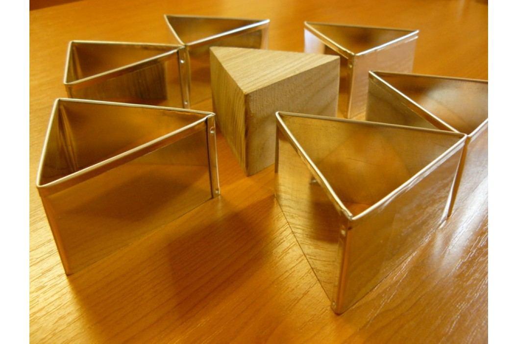 Formy na semifreda - trojúhelník obrázek inspirace