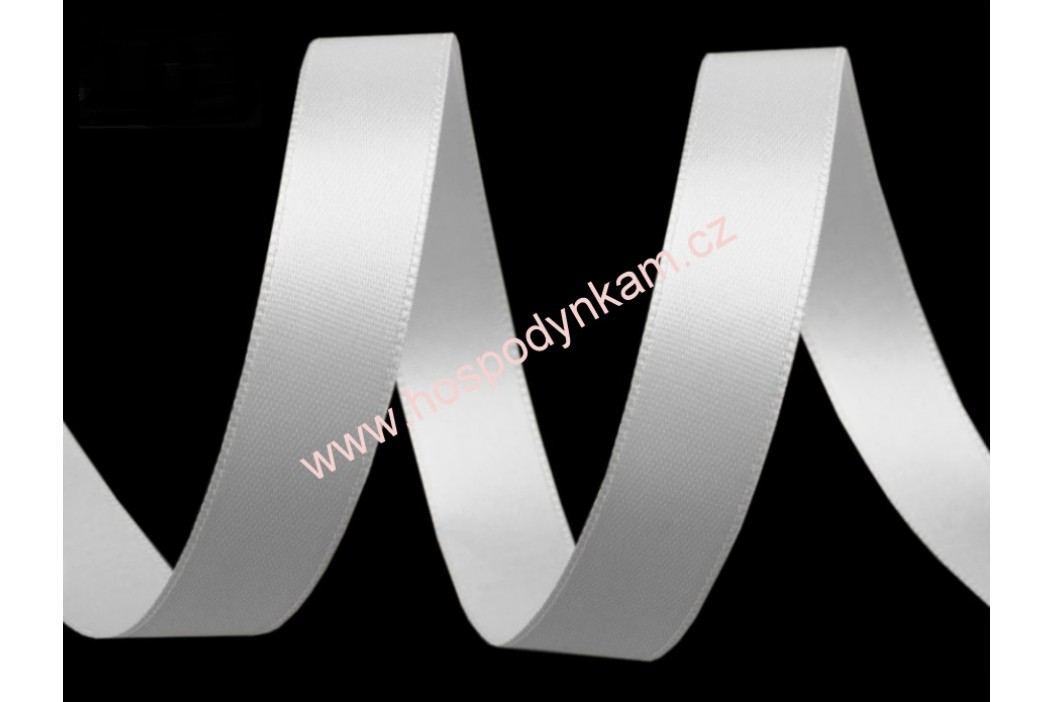 Stuha bílá šíře 15mm (5m v balení)