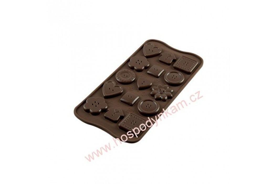 Silikomart Silikonová forma na čokoládu Buttons obrázek inspirace