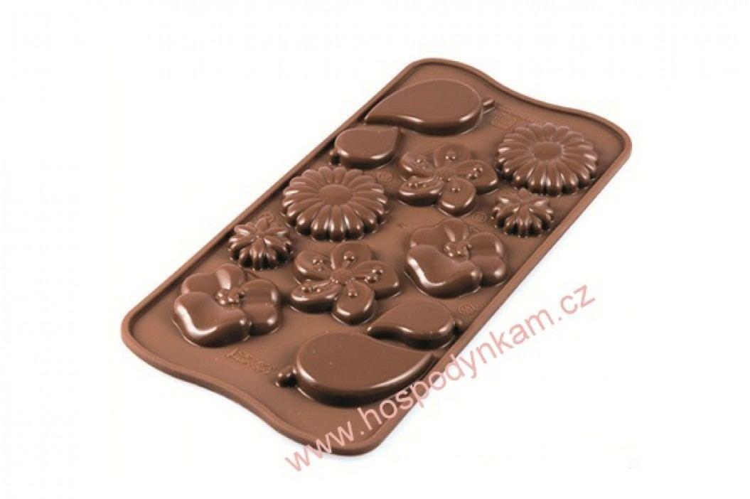 Silikomart Silikonová forma na čokoládu Garden obrázek inspirace