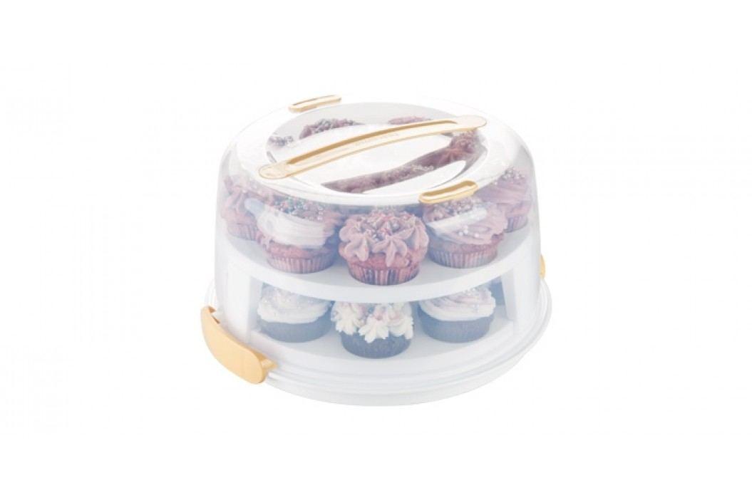 Podnos na muffiny s poklopem DELÍCIA průměr 34 cm