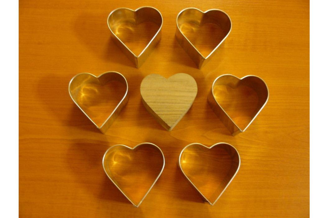 Formy na semifreda - srdce obrázek inspirace