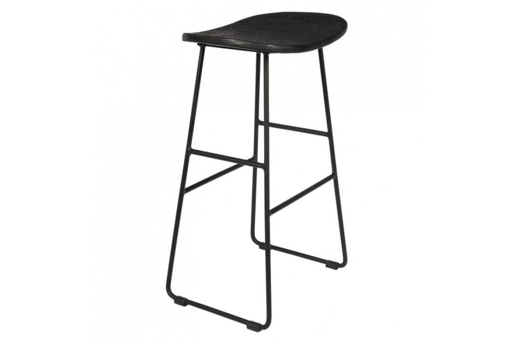 Barová židle WLL TANGLE 65 cm, černá 1500073 White Label Living obrázek inspirace