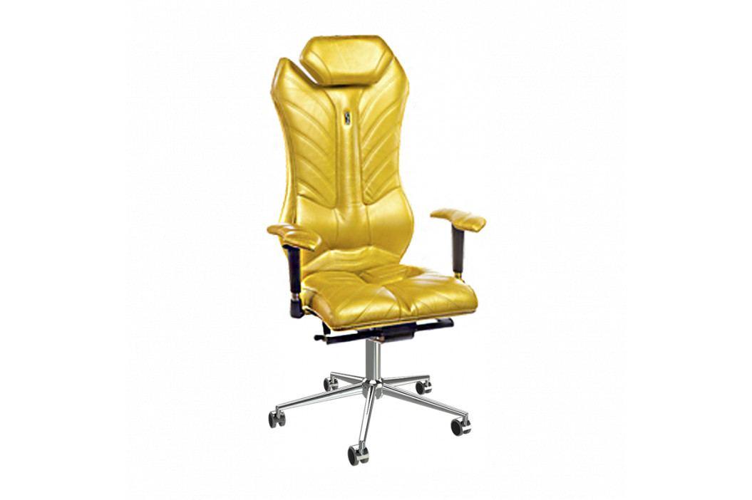 Kancelářské křeslo Monarch, zlatá KS-0202_GD Kulik System