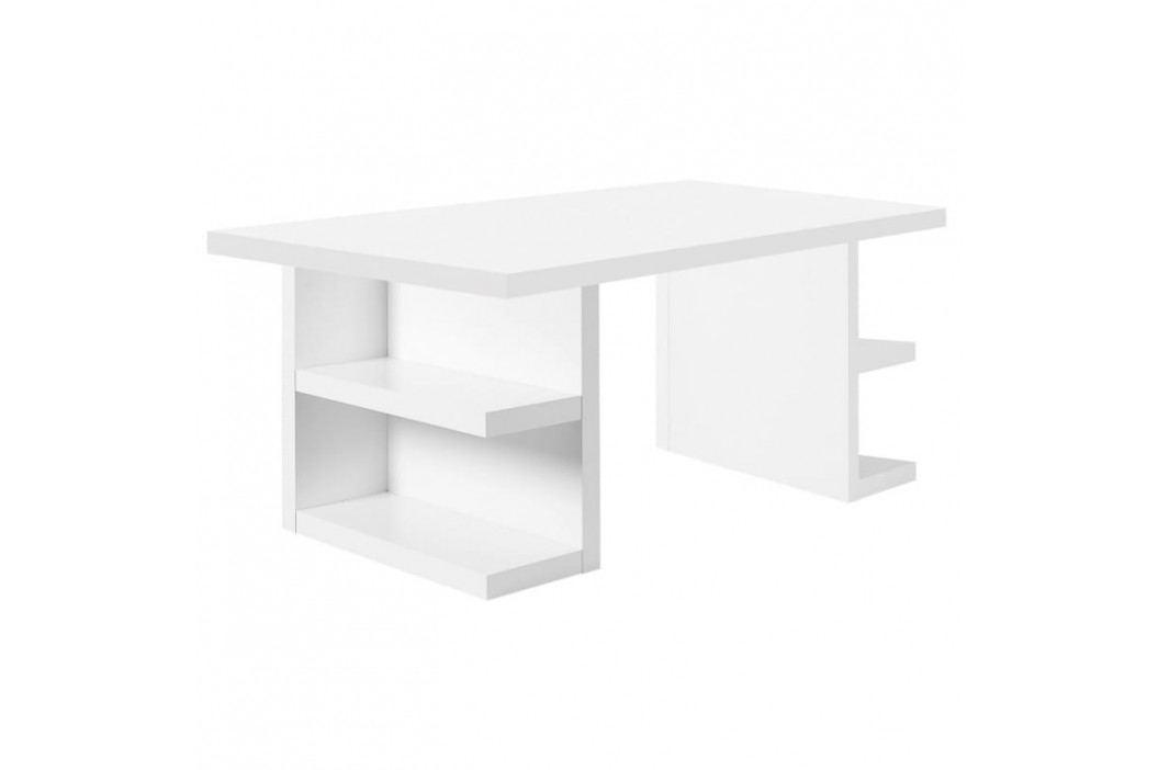 Kancelářský stůl Antonio II. 180 cm, matná bílá 9500.620881 Porto Deco