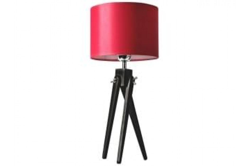 Stolní lampa LF 16, černá podnož (Červená)  LF16_CP Lifelight