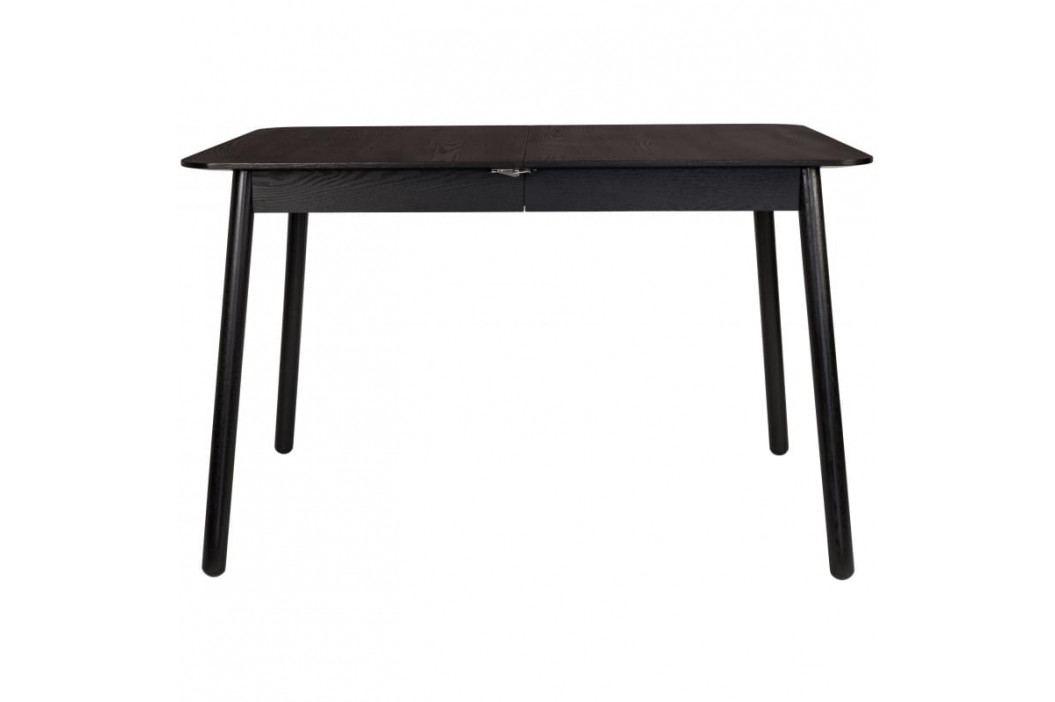 Rozkládací jídelní stůl ZUIVER GLIMPS 120-162 cm, černá 2100074 Zuiver