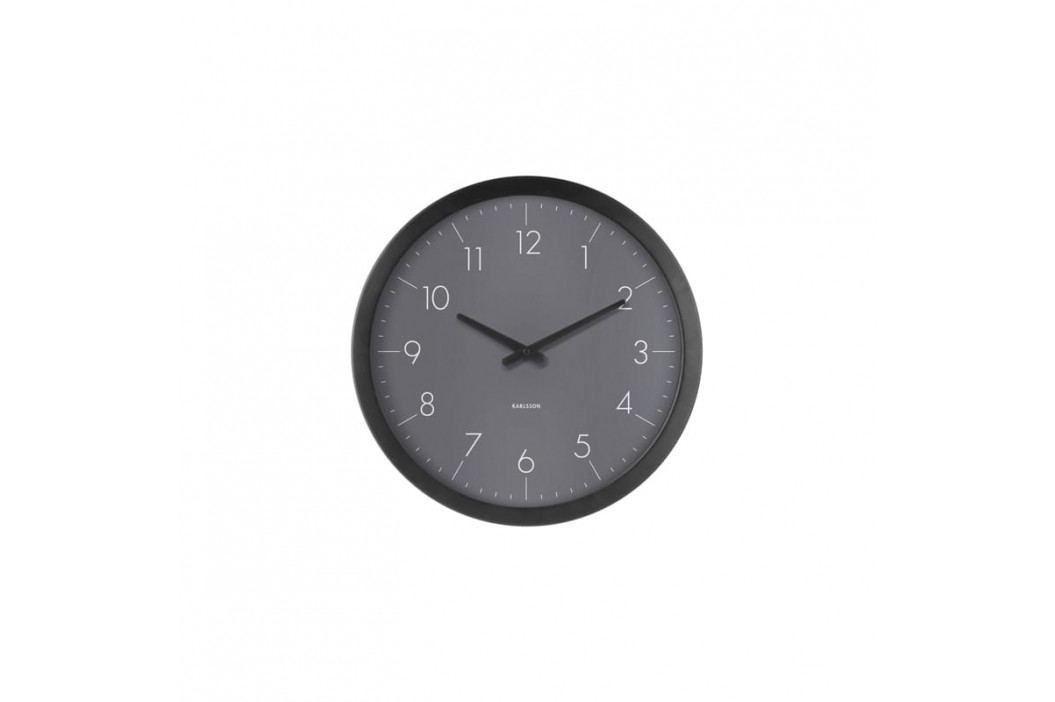 Nástěnné hodiny Marien, tmavě šedá Stfh-KA5733DG Time for home+