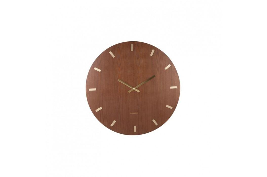 Nástěnné hodiny Marven, tmavě hnědá tfh-KA5704DW Time for home