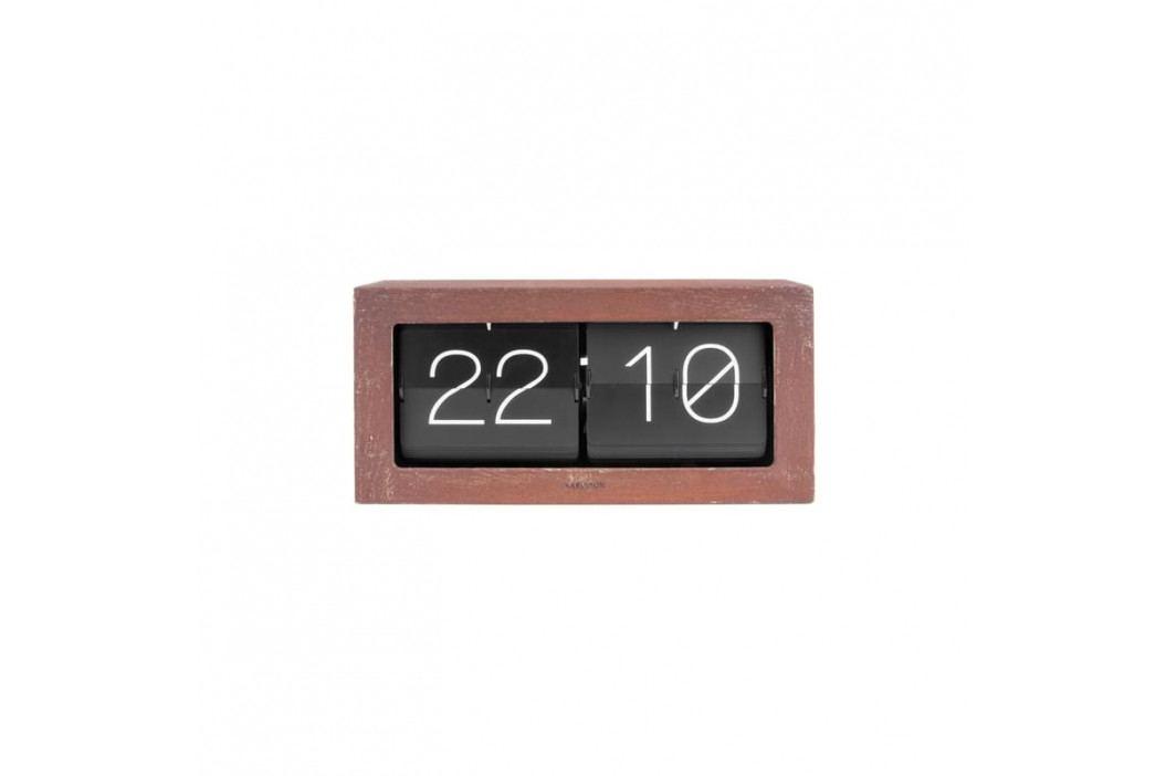 Nástěnné hodiny Carter, rez tfh-KA5642RS Time for home