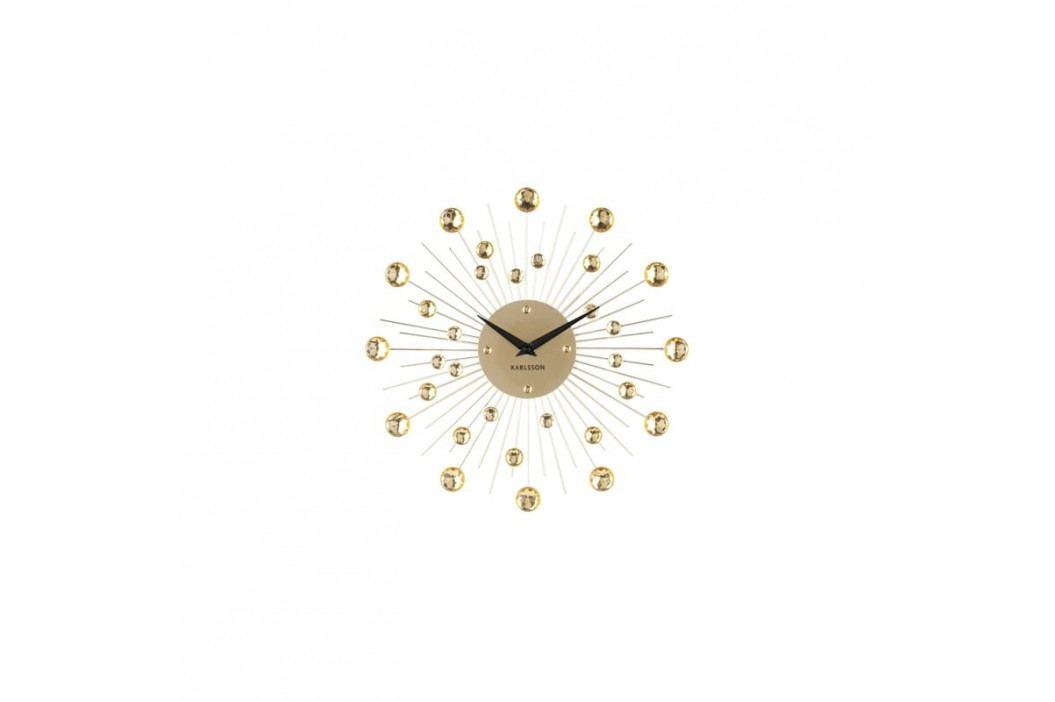 Nástěnné hodiny Espirio 30 cm, zlatá tfh-KA4860GD Time for home
