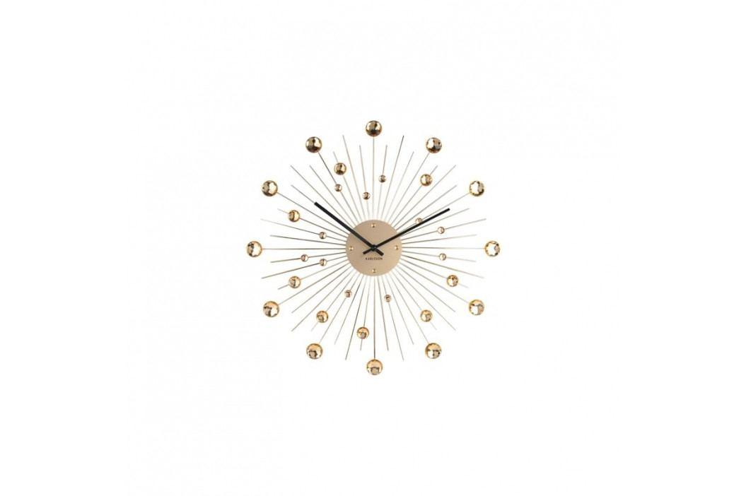Nástěnné hodiny Espirio 50 cm, zlatá Stfh-KA4859GD Time for home+