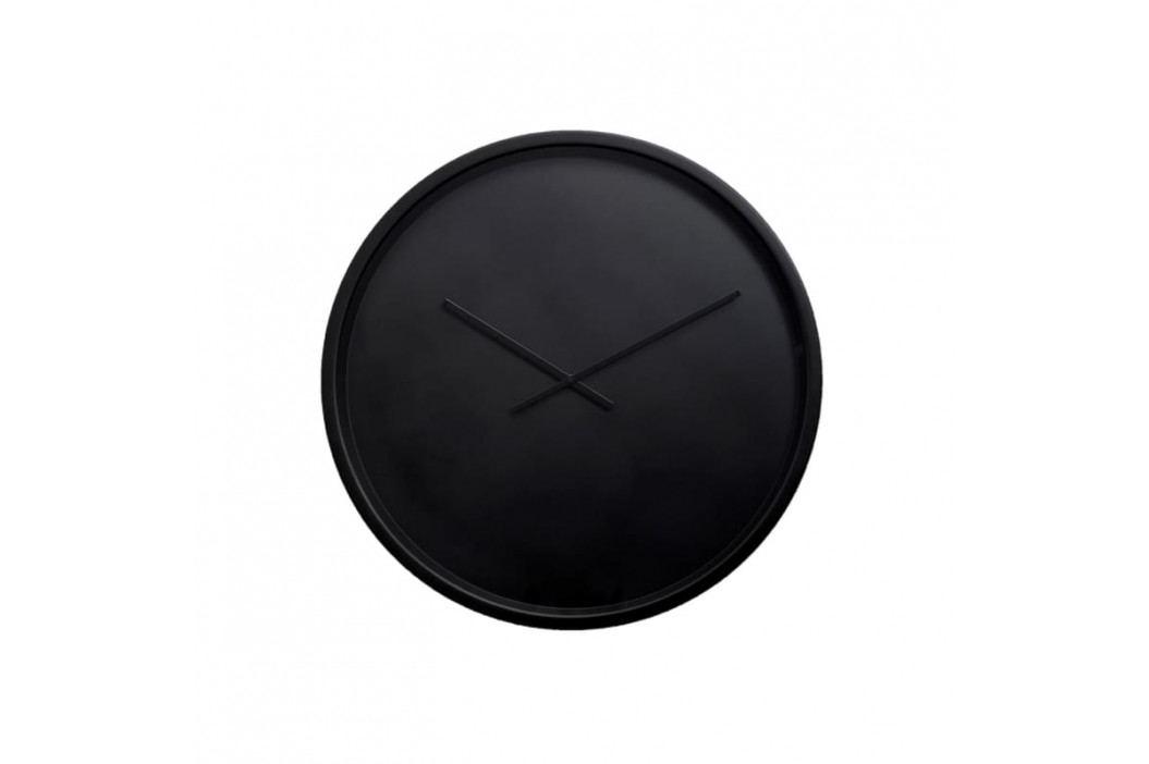 Nástěnné hodiny ZUIVER BANDIT Ø 60 cm, černá 8500054 Zuiver