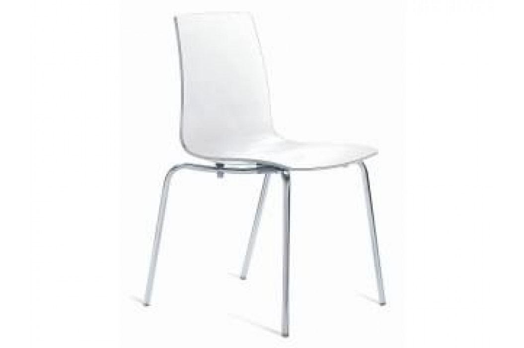 Židle Last, více barev (Bílá transparentní)  SL01 Sit & be