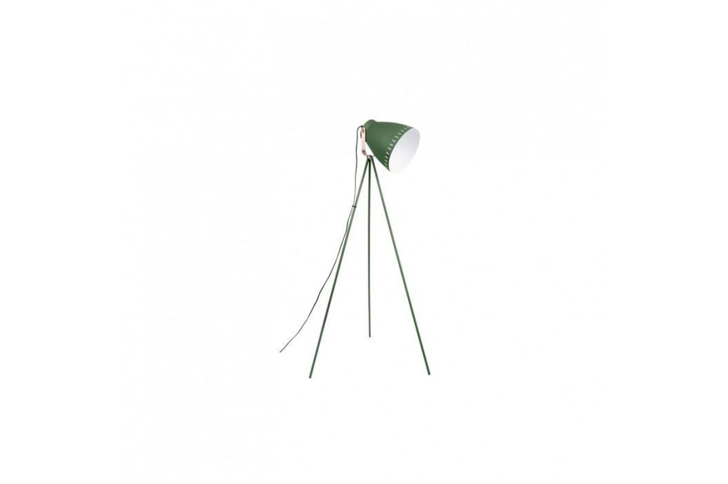 Stojací lampa Lash II, měděná/zelená tfh-LM1417 Time for home
